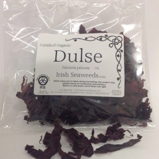Irish Dulse 15 grams Whole leaf Palmaria palmata