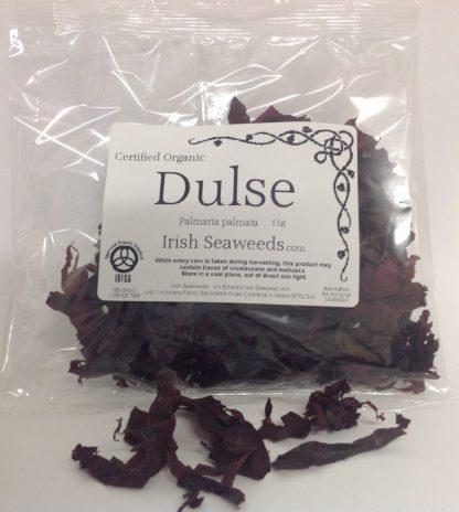 Irish Dulse 15 grams Whole leaf Palmaria palmata