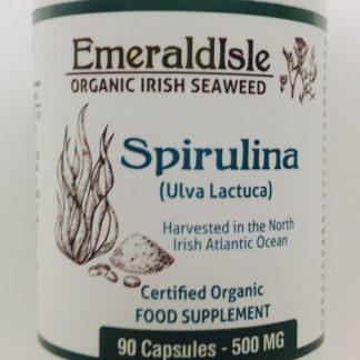 Irish spirulina capsules ( Ulva ) 500mg 90 capsules